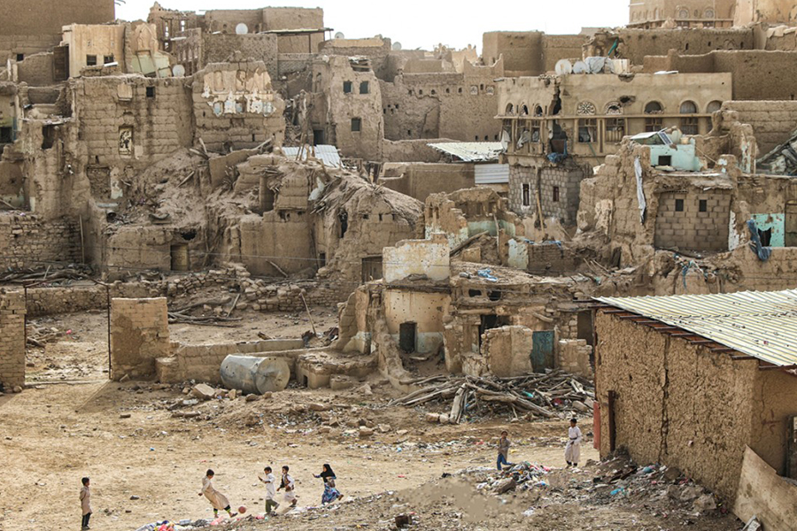 The+country+of+Yemen+remains+devastated+after+years+of+internal+conflict.