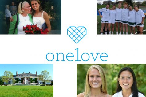 Sacred Heart students promote the message of the One Love Foundation, which aims to teach students how to love better.