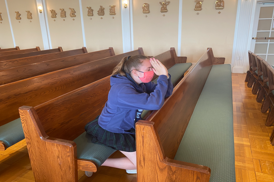 Emma Rose Connolly '21 confesses her sins before the end of the school year.
