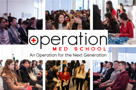 Students discover potential career possibilities at the Operation Med School conference