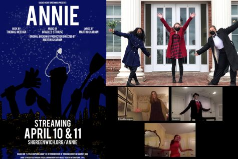 The cast and crew of Annie seamlessly fused virtual and in-person scenes while performing this year