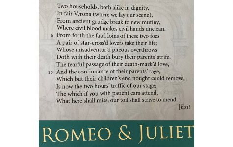 Mimi Lee '22: Romeo and Juliet, Prologue 1-14