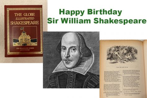 In celebration of Sir William Shakespeare