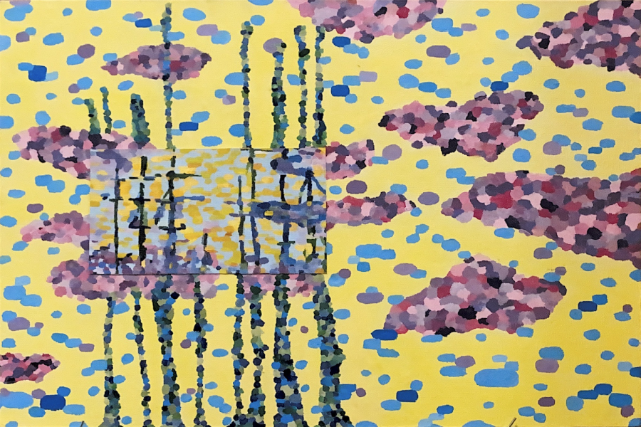 """Art of the Week – """"Blossoming Voyage"""" – Heidi McGannon"""