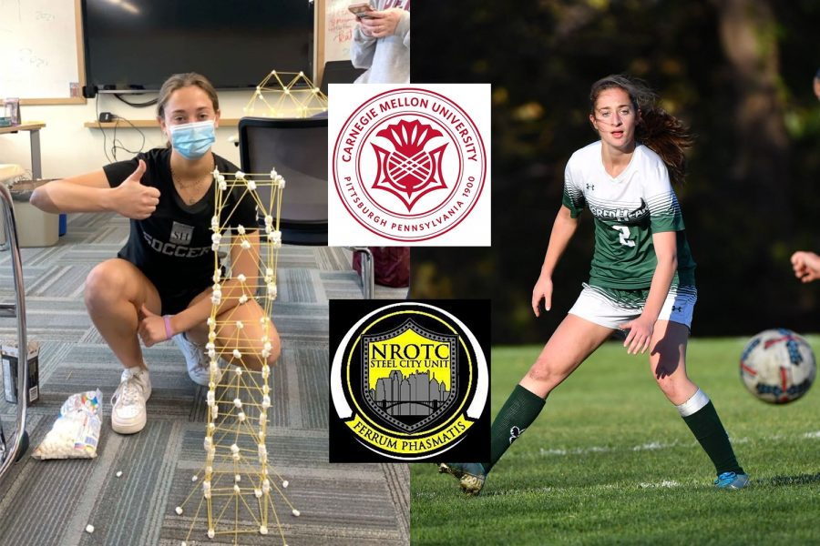 Alana+will+study+engineering%2C+play+on+the+soccer+team%2C+and+participate+in+ROTC+at+Carnegie+Mellon+next+year.+