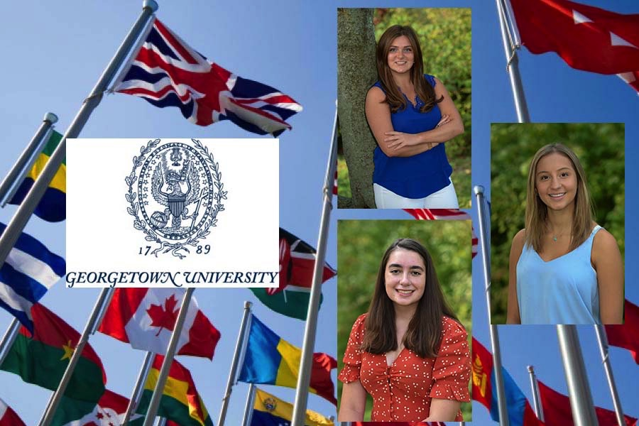 Three seniors will begin their exploration of foreign affairs at the Georgetown School of Foreign Service.