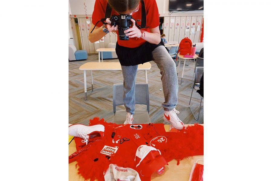 """Art of the Week – """"Red"""" – Lauren Mirando '21"""