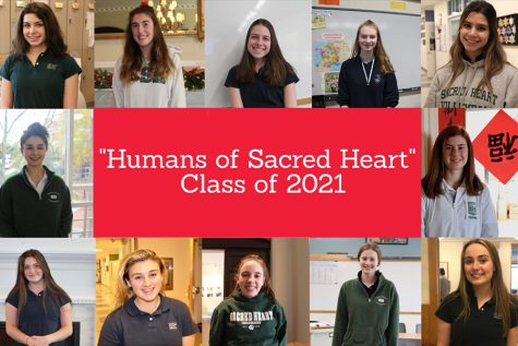 """Enjoy this compilation of Class of 2021 features in the weekly """"Humans of Sacred Heart"""" column."""