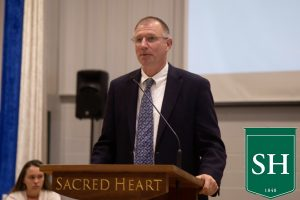 Mr. David Olson's 16 years at Sacred Heart Greenwich come to a close.