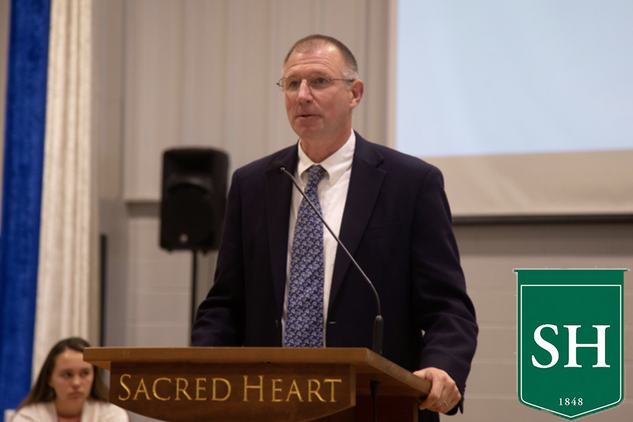 Mr. David Olsons 16 years at Sacred Heart Greenwich come to a close.