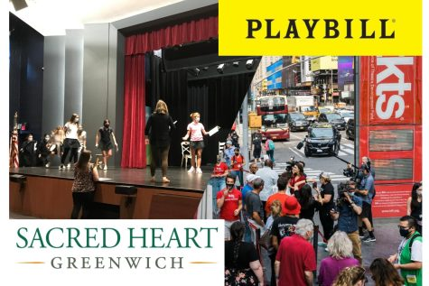 Theatre returns to stages from Broadway to Sacred Heart Greenwich.