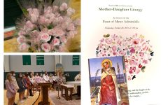 Sacred Heart Greenwich celebrated the Annual Mother Daughter Liturgy October 20 in honor of Mater Admirabilis.