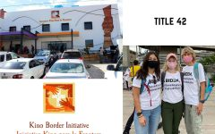 Ms. Courtney Smith 17 volunteers full time with the Kino Border Initiative.