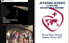 Students within the Sacred Heart Network gather virtually to evaluate the United States criminal justice system.
